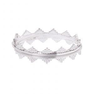 witgouden armband diamant