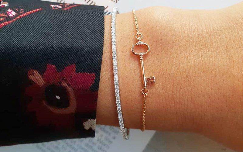 bonebakker-bracelet-key-gold-chain