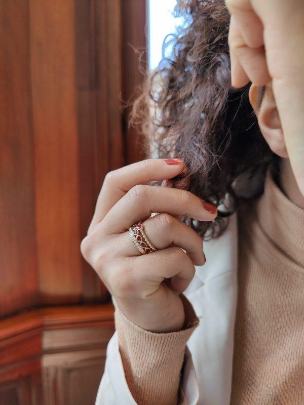 robijn ringen geelgoud