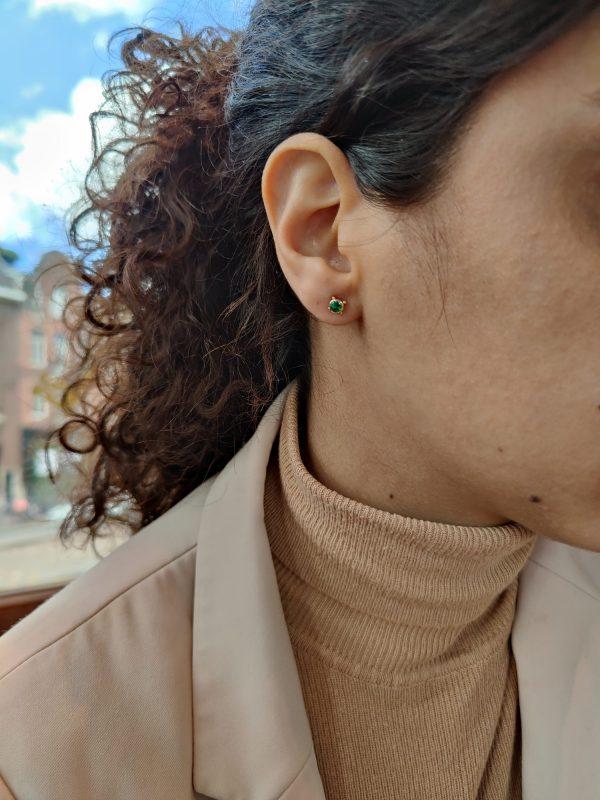 smaragd oorsteker